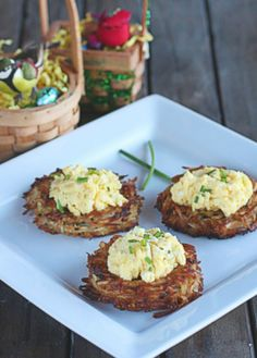 """Chive Egg """"Nests"""" - The Hopeless Housewife®"""