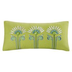 JLA Home Sardinia Decorative Oblong Pillow with Embroidery - EO30-414A