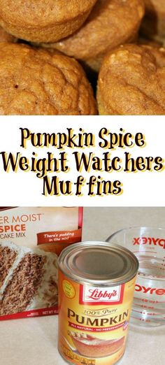 These Pumpkin Spice Weight Watchers Plus Value or 2 Smart Points! They are a great fall treat for low points plus value! These Pumpkin Spice Weight Watchers Plus Value or 2 Smart Points! They are a great fall treat for low points plus value! Weight Watcher Pumpkin Muffin Recipe, Muffins Weight Watchers, Petit Déjeuner Weight Watcher, Dessert Weight Watchers, Plats Weight Watchers, Pumpkin Muffin Recipes, Weight Watchers Breakfast, Weight Watchers Meals, Weight Watchers Points Plus