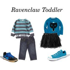 """Ravenclaw Toddler"" by nearlysamantha on Polyvore"