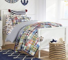 Madras Quilted Bedding