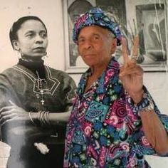 This Woman taught me who I was and who I could become. She taught me who I was before my ancestors were enslaved. She founded The Dusable Museum of African American History in Chicago. She is the Amazing Dr. Margaret Burroughs. R.I.P.