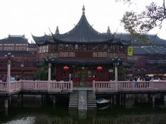 Huxinting Tea House - Old Town (Nanshi) in Shanghai - China