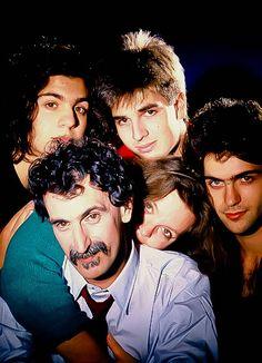 Frank-Zappa-family:Dweezil Zappa, Moon Unit Zappa, Diva Zappa, Ahmet Zappa