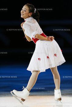 Mao Asada (JPN), NOVEMBER 4, 2012 - Figure Skating : .Mao Asada of Japan performs during a gala exhibition at  ISU Grand Prix of Figure Skating 2012/2013 Cup of China 2012 at Shanghai Oriental Sport Center, Shanghai, China..(Photo by Yusuke Nakanishi/AFLO SPORT) [1090] .