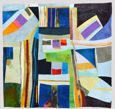 """Bel Canto"" by  Kit Vincent of Elizabethtown, Ontario, Canada | Weekly Artist Fibre Interviews | Fibre Art | International | Canadian | World of Threads Festival | Contemporary Fiber Art Craft Textiles | Oakville Ontario Canada ****"