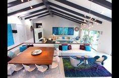 Designer Living Room by PS Luxury Rentals