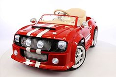 2016 Luxury Edition Red GT5000 Style with 12V Engine Kids Ride on Car, Battery Powered with Parent Remote control