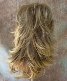 Image result for long hair with lots of choppy layers