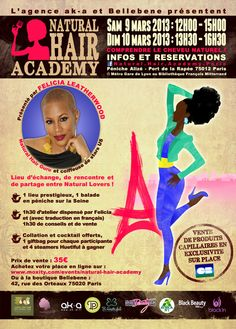 LA NATURAL HAIR ACADEMY 2013 : THE PLACE TO BE POUR LES NAPPY !