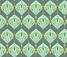 my deco style fabric by monda on Spoonflower - custom fabric