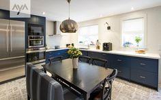 AyA Kitchens | Canadian Kitchen And Bath Cabinetry Manufacturer | Kitchen  Design Professionals   Manhattan Midnight