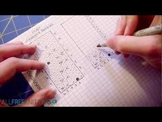How to Change Flat Stitch Patterns to Knit Circularly, a Video Tutorial |