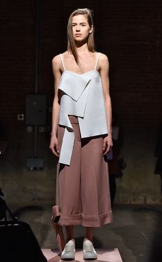 Claudia Li from New York Fashion Week Fall 2016: Best Looks