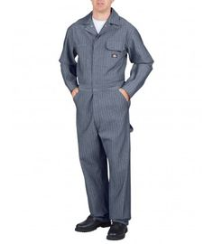 Dickies 48977 Fisher Stripe Cotton Coverall