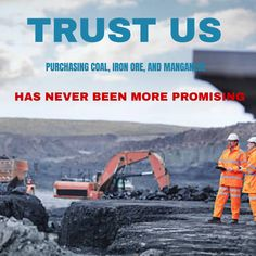 Trust us, purchasing coal, iron ore, and manganese has never been more promising. Iron Ore, Ecommerce Template, Continents, Minerals, Trust, Finance, Minimal Design, Economics