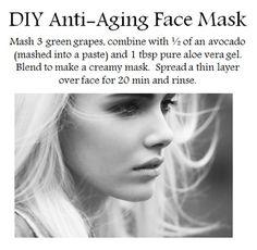 DIY Anti-Aging Face Mask