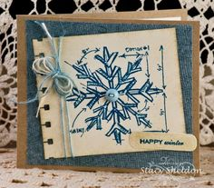 Sketched Snow by JBgreendawn - Cards and Paper Crafts at Splitcoaststampers
