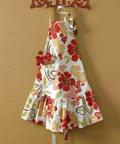 Take a look at this Poppy Prairie Apron by Park Designs on #zulily today!