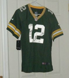 4f8f8df90 Green Bay Packers AARON RODGERS Nike NFL Jersey YOUTH KIDS BOYS XL 18 -20  MNWT