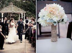 Real Wedding: Stacy + Paul's Anthropolgie Inspired Wedding