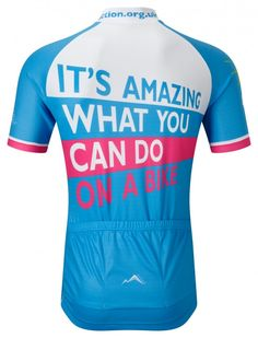 Action Medical Research Cycling Jersey  5c99d0c48
