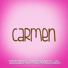 Carmen (Voor meer inspiratie, en unieke geboortekaartjes kijk op www.heyboyheygirl.nl)