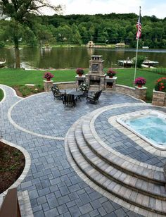 Create Your Dream Outdoor Living Hardscapes. Check Out Our Hardscape Design  Ideas Gallery For Stone