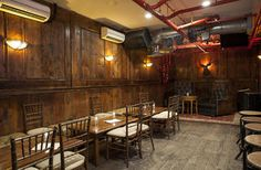 Basement Tavern at the Victorian in Santa Monica. Has great happy hour, 5-8pm every day. 1/2 price on drinks and food