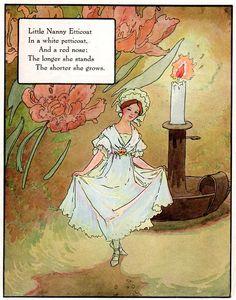 """Sesmas Street"" aus: ""Mother Goose"", Volland Popular Edition (1921), Illustration von Frederick Richardson (1862 - 1937)"