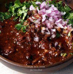 Red Charred Salsa…Salsa Roja Asada… best salsa in the world!