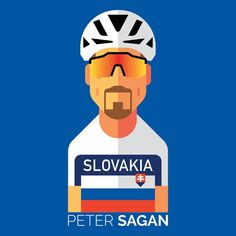 Peter Sagan Sixth Slovak Champion title 2018 @crackersillustration