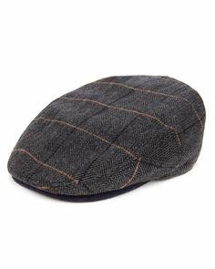 THEROAD - Check flat cap - Plaid | Men's | Ted Baker UK