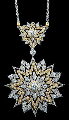 Buccellati diamond necklace