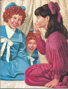 """American Girl Magazine - January 1993/February 1993 Issue - Page 12 (Part 2 of """"A Most Exceptional Bridesmaid"""" - A """"Samantha Parkington"""" Story by Valerie Tripp for American Girl)"""