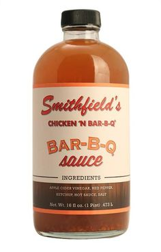 Our Smithfield's Chicken 'N Bar-B-Q Pint of Bar-B-Q Sauce is perfect for seasoning, grilling, dipping or marinading.