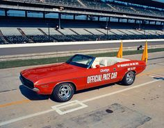 1971 Dodge Challenger (Indy 500 Pace car), via Flickr.  It was another great race here in Indy this year.