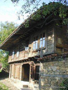 """raditional Bulgarian house in Jeravna built in 1876"""
