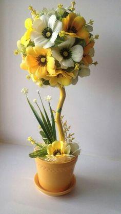 Flores Paper Flower Decor, Flower Crafts, Flower Decorations, Burlap Flowers, Floral Flowers, Fabric Flowers, Beautiful Flower Arrangements, Floral Arrangements, Beautiful Flowers