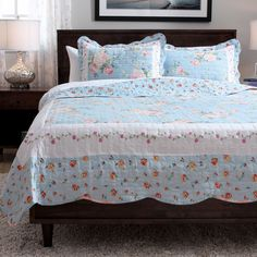 Slumber Shop Blue Ridge 3-Piece Reversible Quilt - Overstock™ Shopping - Great Deals on Quilts