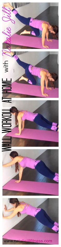 1.Knees to chest 2. Walk up the wall with your hands  Fun workout to try at home! #fun #homeworkout #freeworkout #weightloss #fatloss #fitspo #skinny #happy #healthy #fit