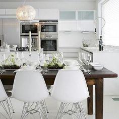 #inspiración #arreglos #hogar #calidez #casa #cocina #blanco #madera