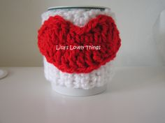 Hot Lips Mug Cosy - The Supermums Craft Fair