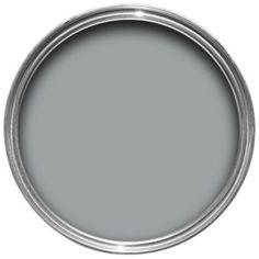 Dulux Warm Pewter Silk Emulsion Paint 2.5L: Image 1