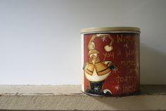 Snowman Tin Christmas Snowman Decoration Wishing by Ramshackles