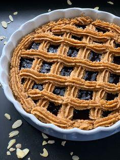 Linzer Torte, Waffles, Pie, Cupcakes, Breakfast, Desserts, Strudel, Food, Muffin