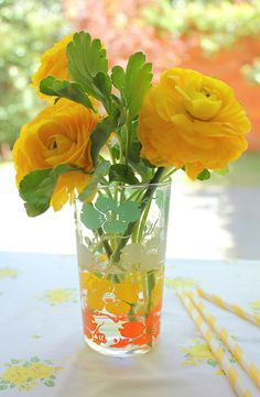 Citrus colors - brings cheer, optimism, and helps with your creativity!