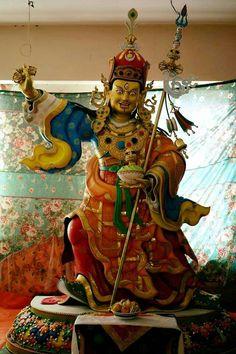 Guru Rinpoche Padmasambhava is coming soon Tibetan Art, Tibetan Buddhism, Tantra Art, Vajrayana Buddhism, Gautama Buddha, Buddha Art, Meditation, Sacred Art, India