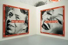 barbara kruger fashion photography - Google Search