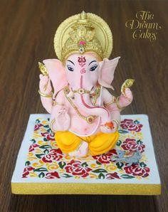Incredible India Collaboration - cake by Ashwini Sarabhai Eco Friendly Ganesha, Maa Durga Photo, Ganpati Decoration At Home, Indian Wedding Cakes, Hindu Culture, Elephant Cakes, Food Artists, India Design, Cupcake Cookies